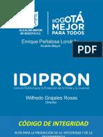 Presentacion_idipron_1 (1) Codigo de Integridad