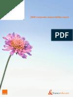 2006 France Telecom CSR Report