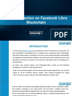 First Transaction on Facebook Libra Blockchain