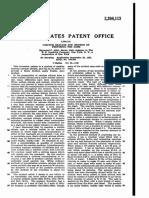 Patente US2204113