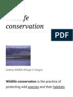 Wildlife Conservation - Wikipedia