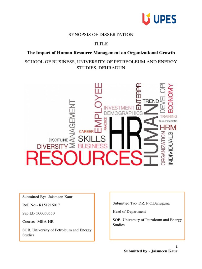HR Dissertation Topics | HRM Dissertation Topics - Ideas & Example