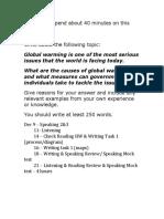 global warming task 2.docx