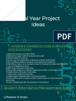 Final Year Project-ideas