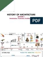 Lecture 1 Prehistoric