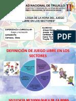 METODOLOGÍA DE JUEGO LIBRE EN LOS SECTORES