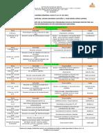 23. Agenda Semanal Julio 15 Al 19 de 2019.