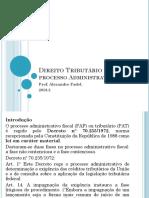 Direito Tributário II - Processo Administrativo Fiscal-convertido