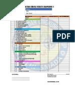 Daftar Check Utility Ekspedisi