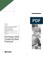 Clustering Best Practices and Understanding