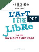 hodgkinson l'art d'etre libre extraits.pdf