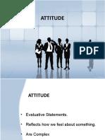 Attitude n
