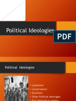 Political Ideologies Ppt.