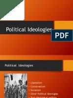 Political Ideologies Ppt.