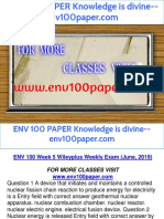 ENV 100 PAPER Knowledge is divine--env100paper.com
