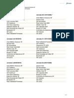 Calendario Segunda Division B Grupo II. 2019-2020
