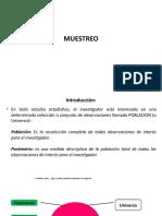 4. Poblacion y Muestreo
