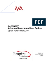 avaya partner acs quick reference guide telephone personal computers rh scribd com Avaya Partner ACS System Avaya Partner ACS Processor 6 0