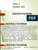 Arts 1stGP - Abstractionism