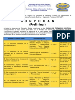 CONVOCATORIA CURSOS DE FORMACIÓN FINAL l