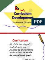 Prof Ed 2 - Curriculum Development