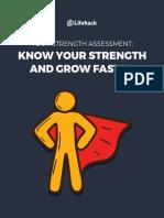 Strengths Assessment