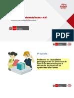 Planificacion de Proyectos de Aprendizaje - Julio ñ2019