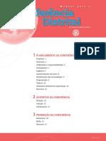 Manual Para a Conferência Distrital