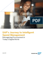 SAP Journey to ISM