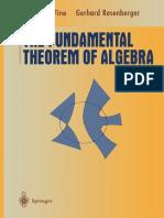 1997 Book TheFundamentalTheoremOfAlgebra