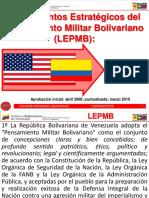 4.- Lineamientos Estrategicos Del Pensamiento Militar Bolivariano