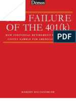 The Failure of the 401(k)