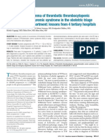 The diagnostic dilemma of thrombotic thrombocytopenic purpura/hemolytic uremic syndrome in the obstetric triage and emergency department