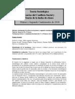 Programa Conflicto 2018 Bonavena
