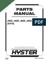 manual hyster J50z