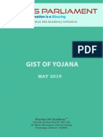Gist of Yojana May 2019 Www.iasparliament