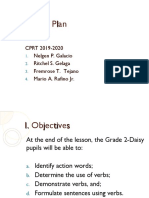 detailed lesson plan in English for grade 2