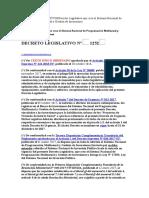 Decreto Legislativo 1252 Invierte.pe