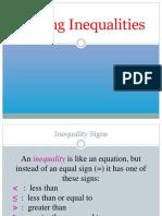 10. Inequality