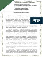 Sistematizacion de Los Encuentro - MIGDALYS RODRIGUEZ