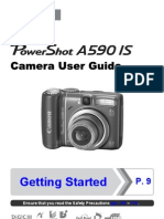 Canon A590IS Manual