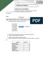 Examen de Excel 2016