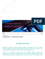 Lecture Notes in Medical Technology_ Lecture #9_ G.I
