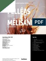Pelléas et Mélisande, Claude Debussy