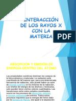 Interaccion de Rayos x Con la Materia