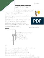 Exercices Energie Fluides Bac Pro Industriel