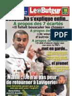LE BUTEUR PDF du 10/11/2010