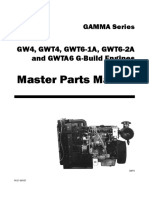 manual de partes Lister GW4