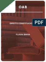Dir. Constitucional OAB 2ª fase