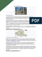 París Administracion Politica